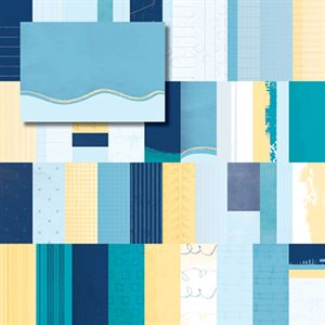 Picture of Blue Skies Designer Journal/Mounting Cards